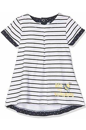 Blue Seven Baby-M/ädchen Wirkkleid Rundhals Kleid