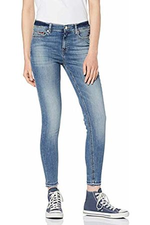 Tommy Hilfiger Women's MID Rise Skinny Nora 7/8 BLNLB Jeans