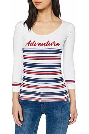 Inside Women's's 7sfc01 T-Shirt (Blanco 90) Small