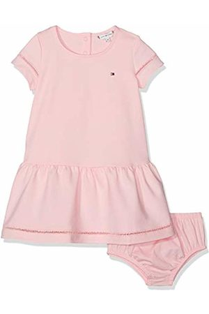 Tommy Hilfiger Baby Dresses - Baby Girls' Drop Waist Ladder Lace Dress S/s