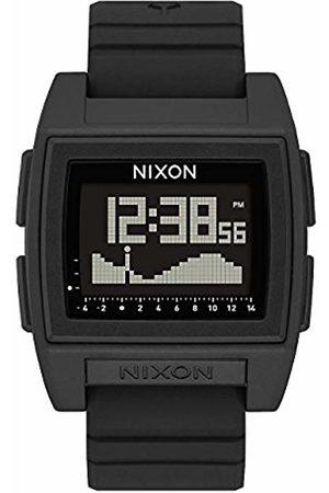 Nixon Mens Digital Watch with Silicone Strap A1212-000-00