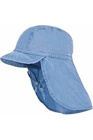 maximo Baby Boys' Schildmütze, Nackenschutz, Bindeband, Waschoptik Hat, (Denim 40)