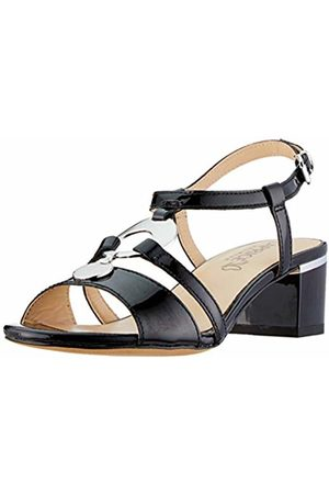 Caprice Women's's Arielle Ankle Strap Sandals, ( Patent 18)