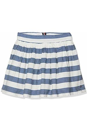 Tommy Hilfiger Girl's Iconic Chambray Stripe Skirt ( /Bright 123)