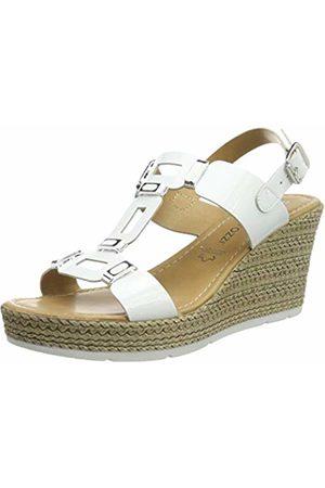 Marco Tozzi Women's 2-2-28355-22 Ankle Strap Sandals Patent 123 6.5 UK