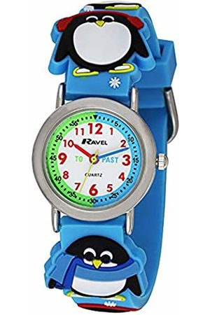 Ravel Children's 3D Penguin Time Teacher Watch