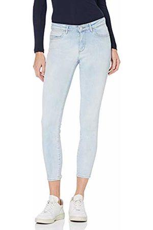 Wrangler Women's Skinny Crop Jeans, (Crystal Blues 28b)
