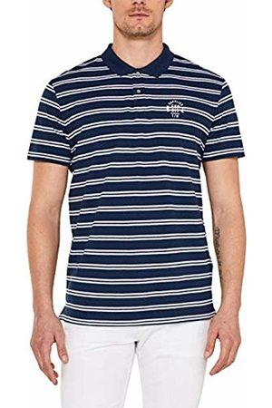 Esprit Men's 039EE2K030 Polo Shirt (Navy 400) L