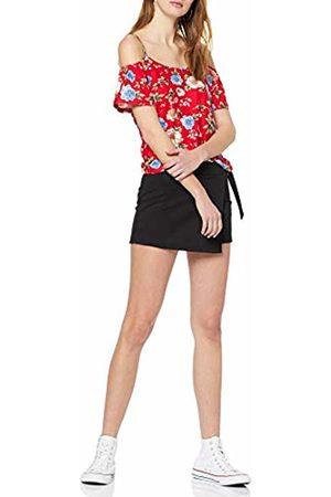 Inside Women's's 7scn84 T-Shirt (Rojo 52) Small