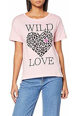 Inside Women's's 7scn69 T-Shirt (Rosa 19) Small