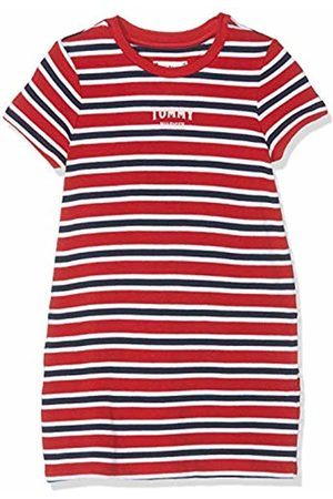 Tommy Hilfiger Girl's Multi Stripe Knit Dress S/s (True 635)
