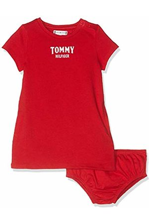 Tommy Hilfiger Baby Girls' Essential Graphic Knit Dress S/s True 635