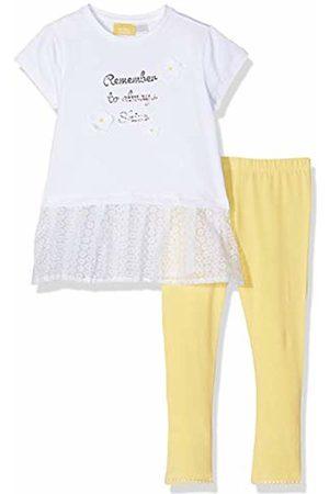 chicco Girl's Completo T-Shirt Manica Corta + Leggings Clothing Set (Giallo Medio 041) 98 (Size: 098)