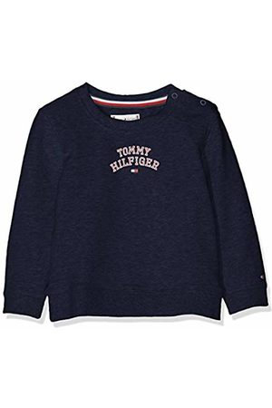 Tommy Hilfiger Baby Girls' Essential Logo Sweatshirt ( Iris 002)