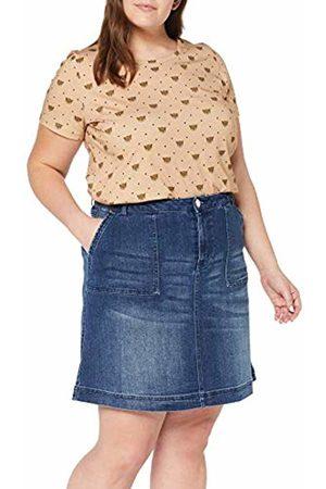 JUNAROSE Women's Jrfive Molly Mb Above Knee Skirt - K Medium Denim