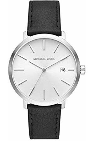 Michael Kors Mens Analogue Quartz Watch with Leather Strap MK8674