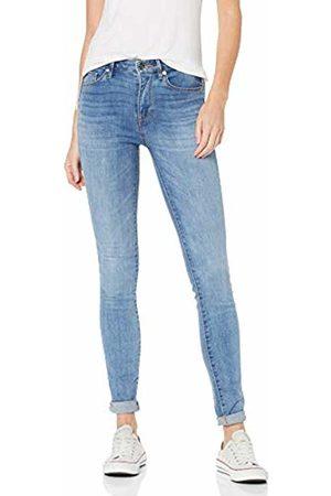 Tommy Hilfiger Women's TH ESS Como Skinny RW Velour Jeans, Blau 912