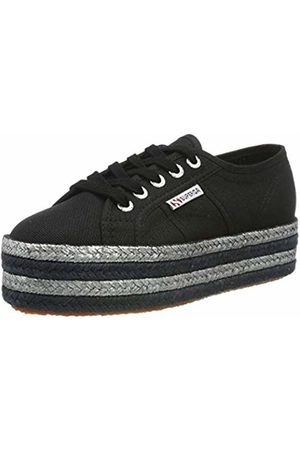 Superga Women's 2790-COTCOLOROPEW Trainers Nero ( 999) 3.5