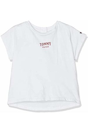 Tommy Hilfiger Baby Girls' Small Logo Grown On S/s Tee T-Shirt, (Bright 123)