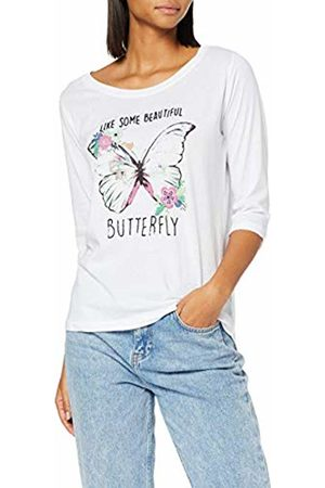 Inside Women T-shirts - Women's's 7sfc05 T-Shirt (Blanco 90) Small