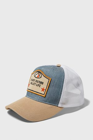 Zara Mesh cap with patch