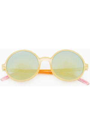 Zara Round tie-dye sunglasses