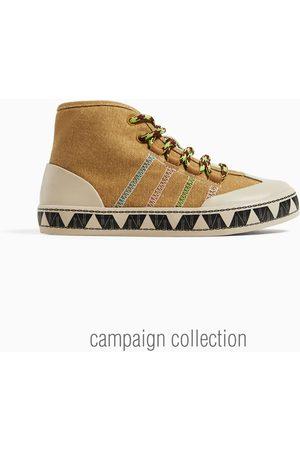 9aa62f12c652 Zara Kids Trainers - Contrasting high-top sneakers