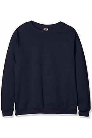 Fruit Of The Loom Unisex Kids Raglan Classic Sweater Pack of 2