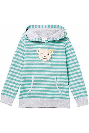 Steiff Baby Boys Sweatshirt Sweatshirt, (Aqua 5007)