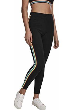 Urban classics Women's Ladies Multicolor Side Taped Leggings 00007