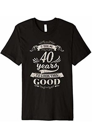 Funny 40th Birthday Gifts Shirts Men Women Took Me 40 Years
