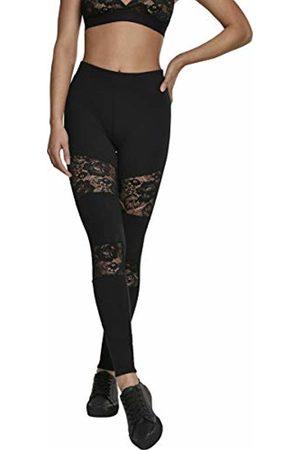 Urban classics Women's Ladies Laces Inset Leggings 00007