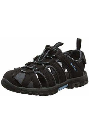 Hi-Tec Women's Cove Closed Toe Sandals, ( /Charcoal/Forget Me Not 21)