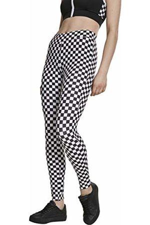 Urban classics Women's Ladies Check Pattern Leggings (Chess 01683)