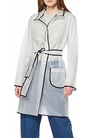 Rinascimento Women's Cfc0091340003 Trench Coat (Bianco B021) X-Small