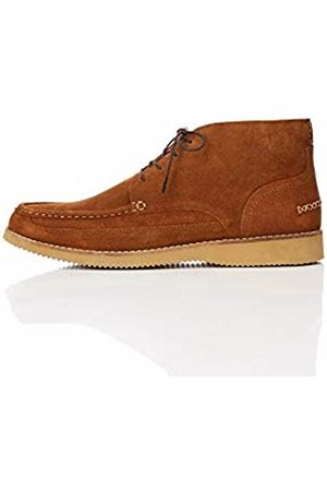 FIND Wedge Sole Leather Chukka Boots, Tan