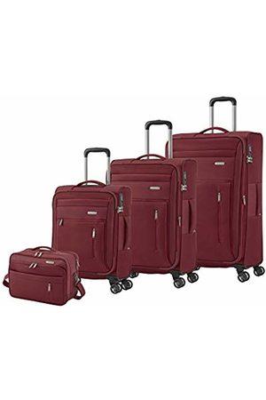 Elite Models' Fashion Suitcases & Luggage - Capri Luggage Range in 3 Colours: Practical, Elegant 2 and 4 Wheel Trolley Suitcase Set, 76 cm