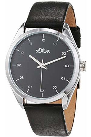 s.Oliver Womens Analogue Quartz Watch with Leather Strap SO-3731-LQ