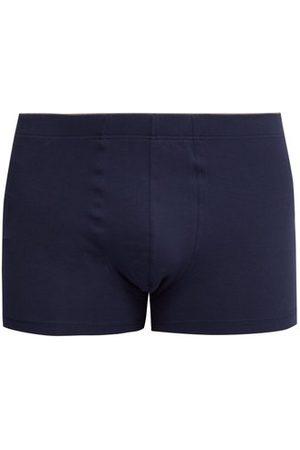 Hanro Superior Stretch-cotton Trunks - Mens