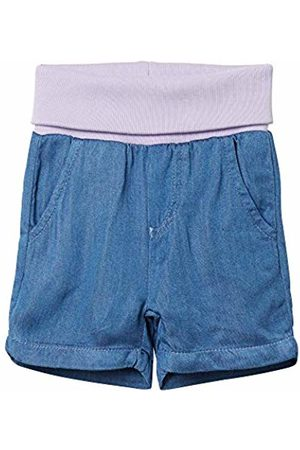 Steiff Baby Girls Jeans Shorts Short, (Forever 6027)