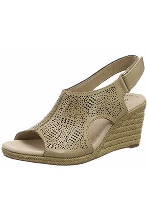 69af45bafb5 Clarks Lafley Rosen Leather Sandals in Sand Standard Fit Size 7½ .