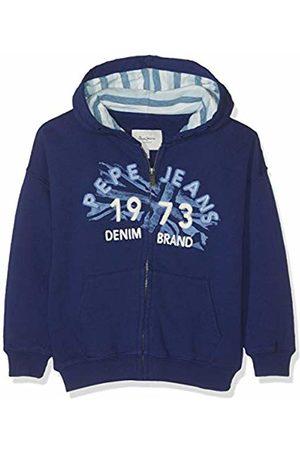 Pepe Jeans Boy's Agustin Sweatshirt, (Steel 563)