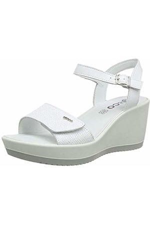 IGI &CO Women's DSC 31741 Platform Sandals, (Bianco 3174111)