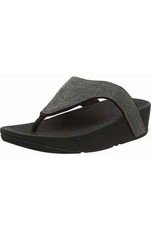 FitFlop Women's Lottie Shimmermesh Flip Flops, ( 001)