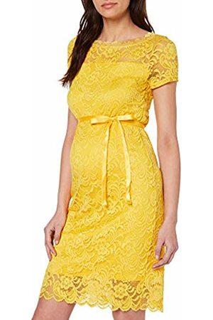 Mama Licious Women's Mlmivana S/s Boatneck Jersey Dress A. Super Lemon