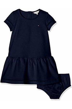 Tommy Hilfiger Baby Girls Drop Waist Ladder Lace Dress S/s Dress Not Applicable