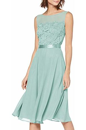 Vera Mont Women Dresses - Women's 2147/5000 Dress, (Sterling 8464)