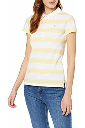 Tommy Hilfiger Womens Polo Shirt Polo Short Sleeve Polo Shirt - Yellow - X-Small