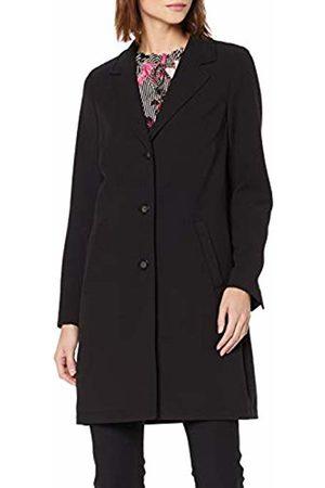 s.Oliver Women's 29.903.52.3459 Coat, Schwarz 9999