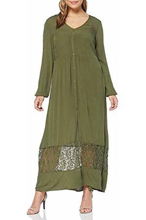 JUNAROSE Women's Jrmartha Ls Ancle Dress -k Ivy